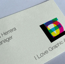 I Love Graphic Arts. A Design&Illustration project by m creativa         - 29.11.2010