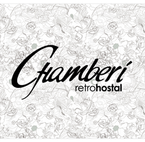 Chamberí RetroHostal. A Design, Illustration, and Advertising project by rk estudio         - 04.12.2010