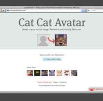 CatCatAvatar. A Software Development project by Javier Arce - Dec 25 2010 02:23 PM