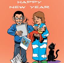 Feliz 2011. Un proyecto de Ilustración de Tomás Morón Aranda - Viernes, 31 de diciembre de 2010 06:58:30 +0100