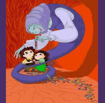 Cuentos. Um projeto de Ilustração de Juan Carlos Moreno         - 03.01.2011