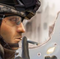 Arma imperfecta. Un proyecto de Ilustración de Fabián García Bailén - Miércoles, 12 de enero de 2011 16:56:29 +0100