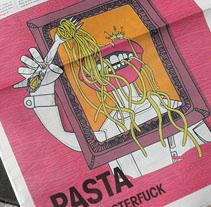 Portada revista BCNWEEK. A Illustration project by jorge sierra - 24-01-2011