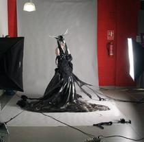 Diablo Blanco / Caracterización en vivo.. Um projeto de Fotografia de Lidia  Aparicio Sales         - 28.01.2011
