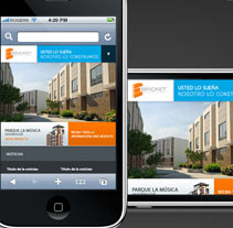 Website Movil. Um projeto de Design e Desenvolvimento de software de Adrian Ramos         - 31.01.2011
