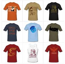 Camisetas imperioromano.com. Un proyecto de Diseño de Manel S. F.         - 06.02.2011