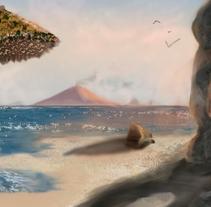 playa paradisiaca. Um projeto de Design e Ilustração de anabel sánchez blanch         - 09.02.2011