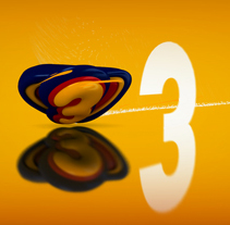 Cortinilla Super3 TV3. A Motion Graphics, Film, Video, TV, and 3D project by Carlos Diéguez - Feb 12 2011 03:07 PM