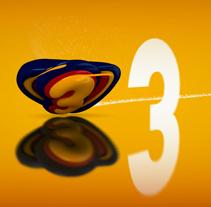 Cortinilla Super3 TV3. Un proyecto de Motion Graphics, Cine, vídeo, televisión y 3D de Carlos Diéguez - Sábado, 12 de febrero de 2011 15:07:30 +0100