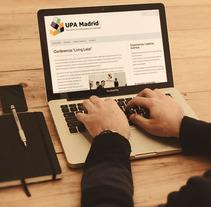 UPA Madrid. Um projeto de Design, Desenvolvimento de software e UI / UX de Fran Fernández         - 08.03.2011