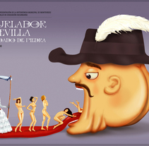 El Burlador de Sevilla. A Design, Illustration, and Advertising project by Alfredo Polanszky - 10-03-2011