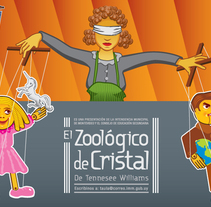 El Zoológico de Cristal. Tennesee Williams. A Design, Illustration, and Advertising project by Alfredo Polanszky - 10-03-2011