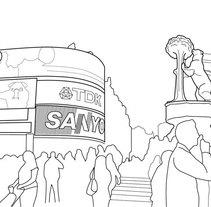 Desplazados. Un proyecto de Ilustración de Marta Sisón Barrero - 13-03-2011