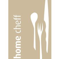 Home Cheff · Diseño de logo. Un proyecto de Diseño de Gabriela Petrikovich         - 01.04.2011