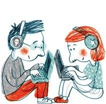 Portada Revista de estudios de Juventud nº92. A Illustration project by marta altés - 22-04-2011