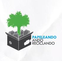 Folleto Papeleando. A Design project by Francisco Zurita Bobis         - 23.04.2011
