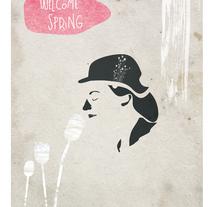 WELCOME SPRING. Um projeto de Ilustração de Valeria Scaloni         - 26.04.2011
