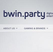 BWIN-PARTY. A Design project by Rubén Martínez Pascual - Mar 12 2012 12:00 AM