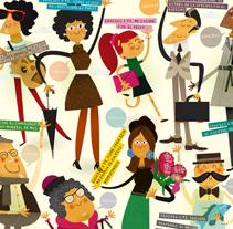 Gracias por adelantado. Gracias por hacerte donante. Un proyecto de Diseño e Ilustración de Rebombo estudio         - 29.05.2011