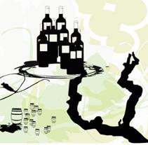 Ilustración XV encuentro de las mujeres y el vino. A Illustration project by Gloria B. Urretavizcaya         - 27.05.2011