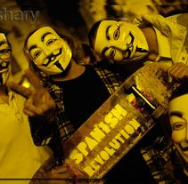 Spanish Revolution. Um projeto de Fotografia de Lidia  Aparicio Sales         - 04.07.2011