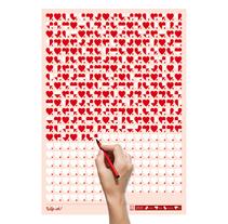 Life Calendar: Love Life, Day by Day. Un proyecto de Diseño, Diseño de producto y Diseño gráfico de Raquel Catalan - Miércoles, 08 de junio de 2011 00:00:00 +0200