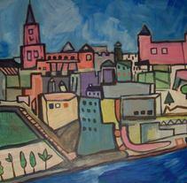 Toledo. A Illustration project by Guillermo Vazquez Lopez de la Llave - 12-06-2011