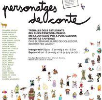 Mil i un personatges de conte. Un proyecto de Diseño e Ilustración de Carol Rollo - 05-08-2011