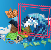 Bcn 90's. A Design, Illustration, Advertising, Photograph, and 3D project by Lobulo         - 01.07.2011