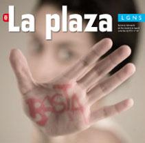 Revista La Plaza de Leganés. A Design project by Inma Lázaro         - 06.07.2011