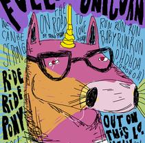 Folow that unicorn. Um projeto de Design e Ilustração de Pablo Pighin         - 08.07.2011