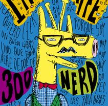I'am a giraffe. Um projeto de Design e Ilustração de Pablo Pighin         - 08.07.2011
