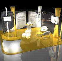Stand Echelon. Un proyecto de Ilustración, Instalaciones y 3D de Jose Maria Gallego Guillen         - 17.07.2011