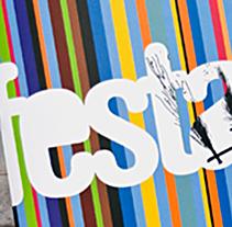 Programa de Festes 2008 d'Aldaia. Un proyecto de Diseño, Ilustración, Publicidad, Instalaciones y Fotografía de DUPLO Comunicació Gràfica         - 11.07.2011