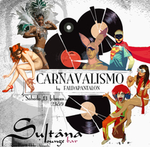 SULTANA LOUNGE BAR. A Design, Illustration, Advertising, Music, and Audio project by GLAUCO BENEJAMA         - 20.07.2011
