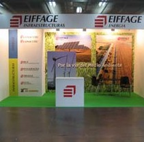 Stand Eiffage. A Design, and Advertising project by Sara Larrosa - 01-08-2011
