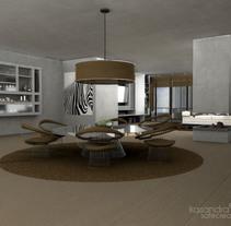 Salón VRay. Un proyecto de Diseño, Instalaciones y 3D de Diseño de Interiores         - 02.08.2011