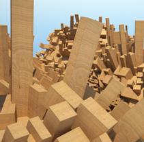 CAOS. Um projeto de Instalações e 3D de Margarita Rodríguez Municio         - 01.09.2011