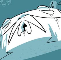 El café de Babel. Un proyecto de Ilustración de Fran Collado - 06-09-2011