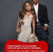 Niños 1. A Advertising project by Carolina Rodríguez         - 12.09.2011