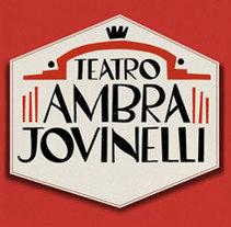 Ambra Jovinelli. A Design, Illustration, and Advertising project by Oze Tajada - 14-09-2011