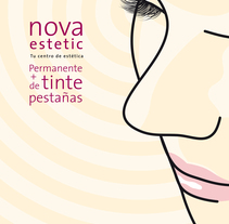 Carteles Nova Estetic. A Design, Illustration, and UI / UX project by Luis Miguel Munilla Gamo - Sep 18 2011 02:17 PM
