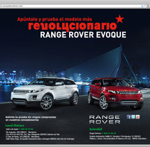 Web - Landing Page Range Rover. A Design project by Luis Moreno  - 20-09-2011