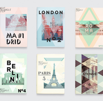 Next Triangle Step . A Design&Illustration project by Sonia  Castillo         - 30.09.2014