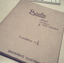 Cuaderno. A Illustration project by Davidibus - Oct 21 2011 01:34 AM