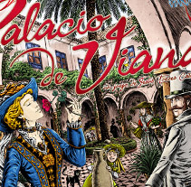 Palacio de Viana (Juego de mesa). Un proyecto de Diseño de dramaplastika - 26-10-2011