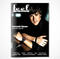 Feel the moment magazine. A Design, and UI / UX project by Lionblue Estudio         - 26.10.2011
