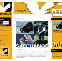 Safehands. A  project by Carlos Narro Diego         - 01.11.2011