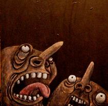 ''EL GRITO''. Um projeto de Ilustração de Natxo  Ramirez Garcia - 08-11-2011