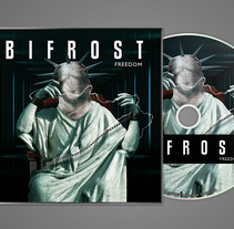 Bifrost - CD y Myspace. A Illustration, Photograph, Music, and Audio project by Joaquín  Fernández Campuzano - 11.12.2011